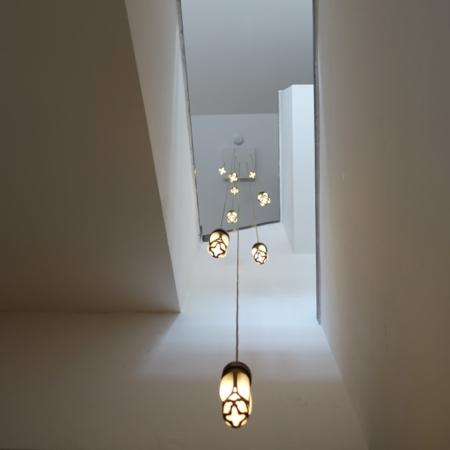 brons hanglamp