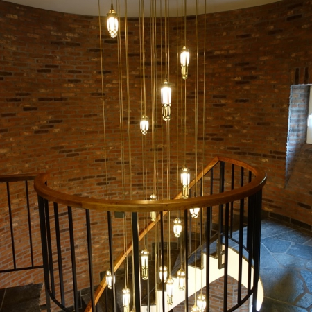 hanglamp brons