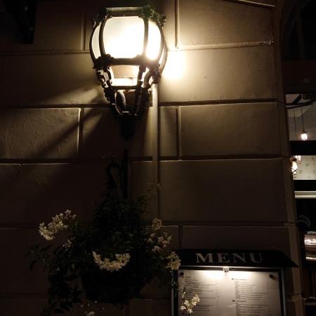 restaurant buitenverlichting