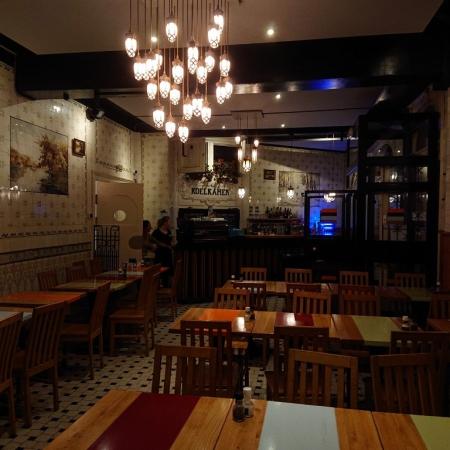 Lampe suspendue restaurant