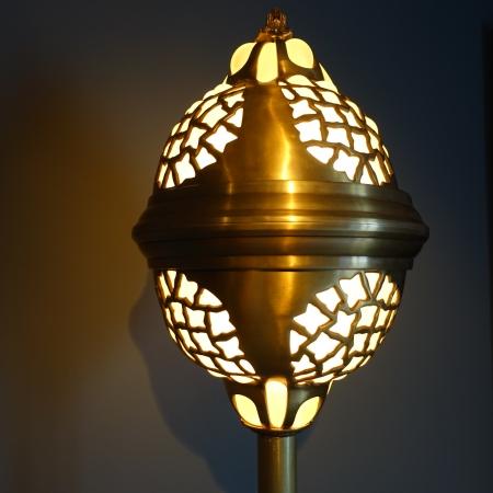 Plafonnier luminaire bronze