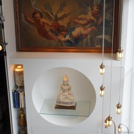 Lampe suspendue bronze B1B