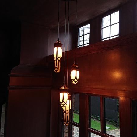 Luminaire suspendu cuisine bronze