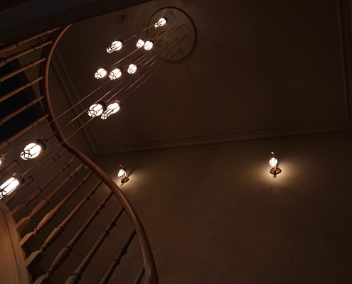 Luminaire suspendu bronze
